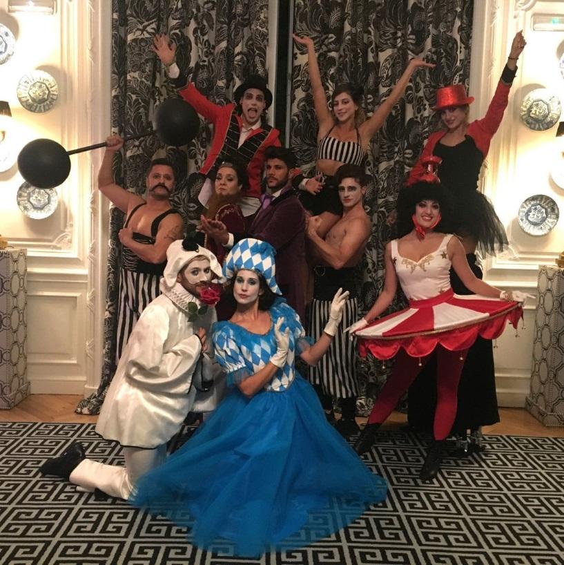 Espectáculos de circo de Dancem