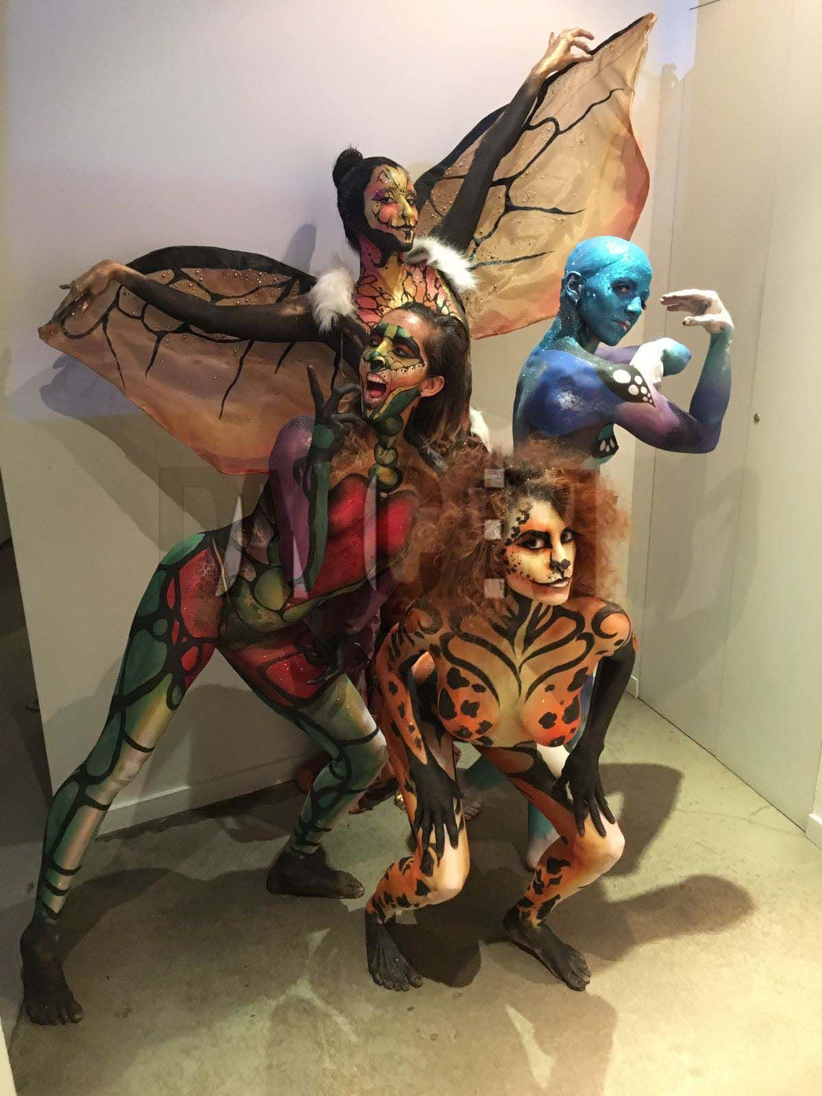 Characterization and costume design for events and parties - Dancem Events