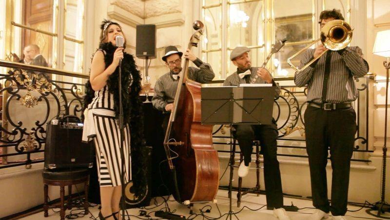 Música en directo para eventos - Dixie Band - Dancem Espectáculos