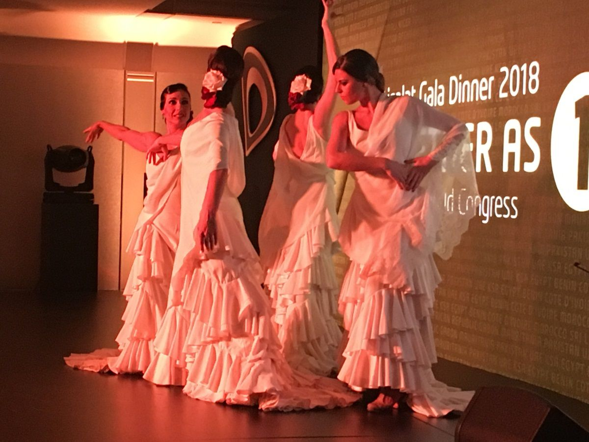 Show de flamenco de Dancem Espectáculos en el Mobile World Congress 2018