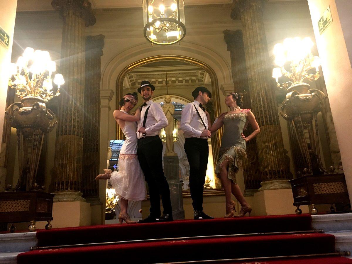 Dancem Espectáculos vuelve a revolucionar el Casino de Madrid