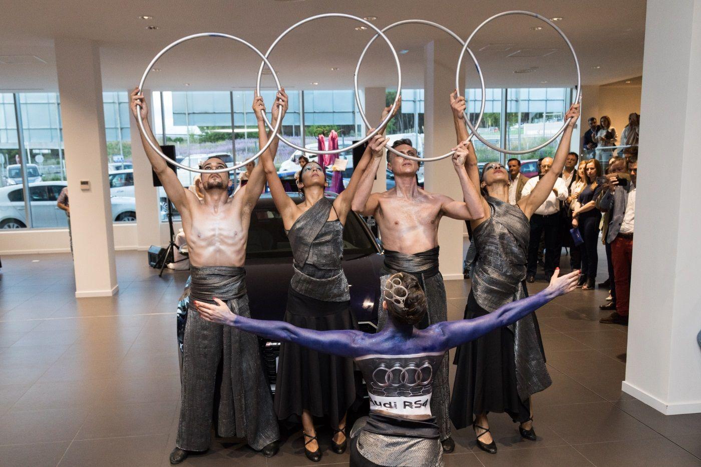 Presentación Audi y Volskwagen a cargo de Dancem Espectáculos