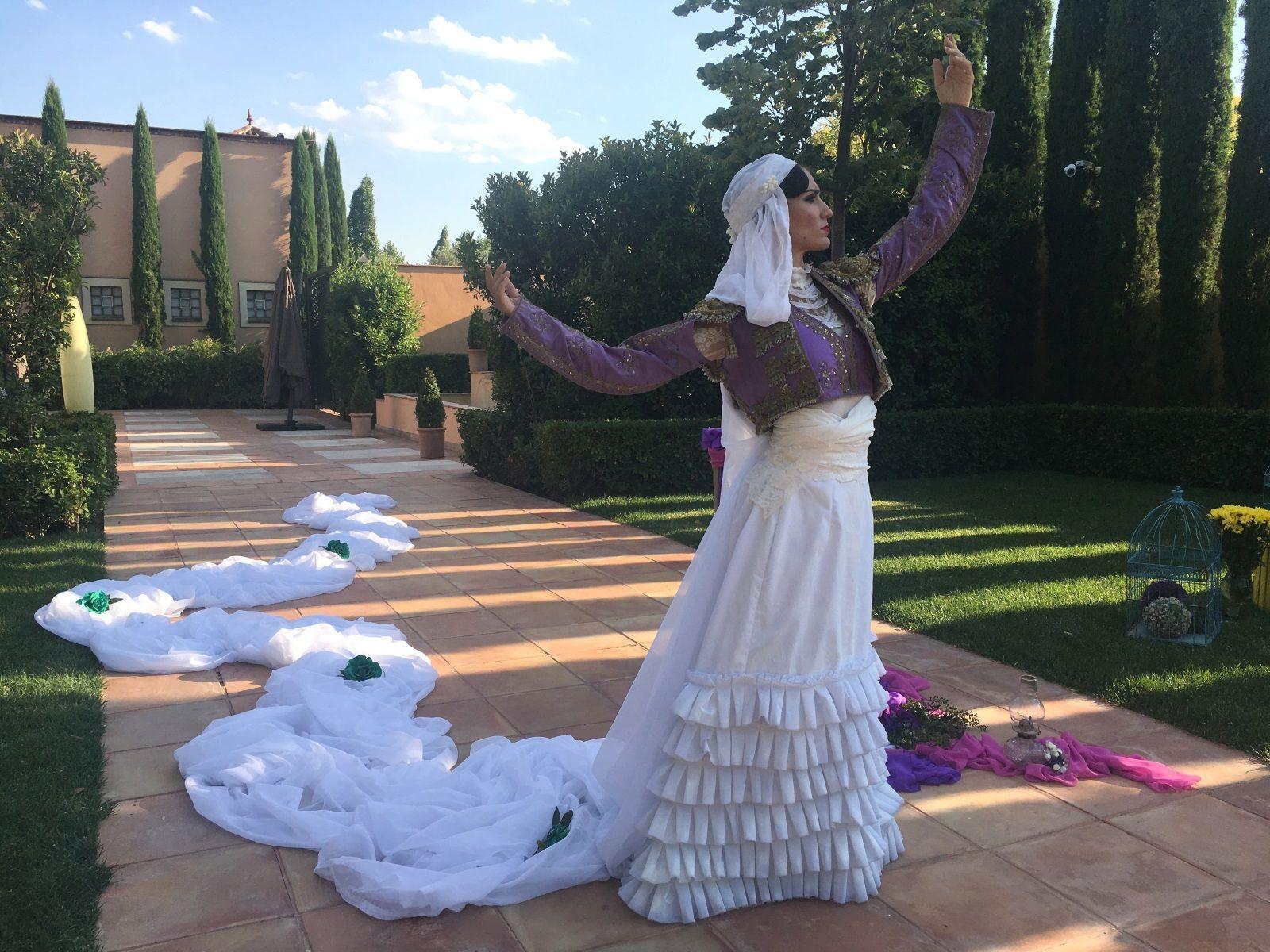 Flamenco - female bullfighter