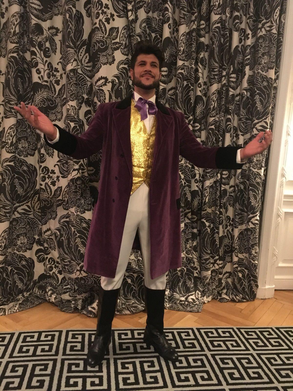 Espectaculos de circo - Maestro de ceremonias