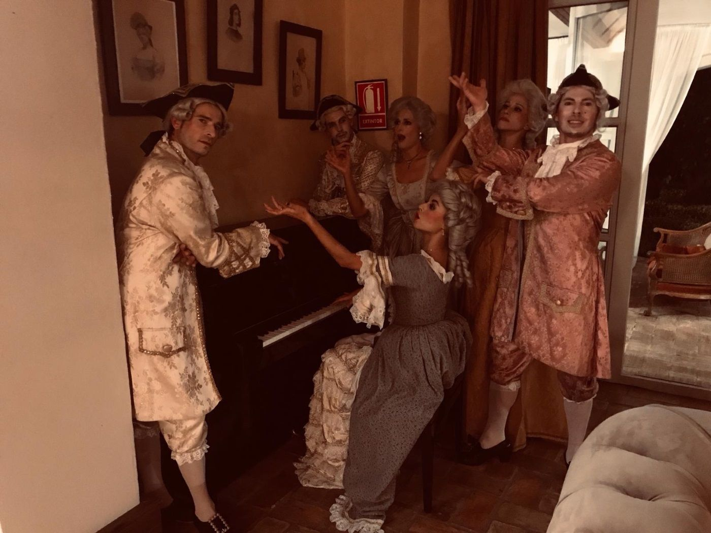 Themed private event at the Monastery of Saint Martin in Montenegral