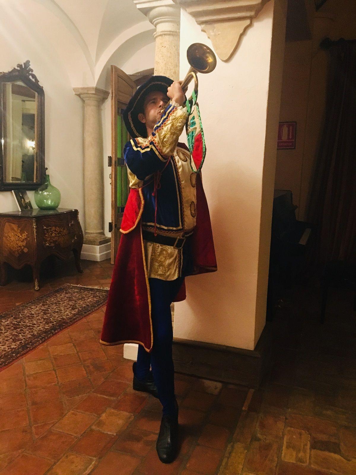 Evento privado Monsaterio de San Martín con temática cuento