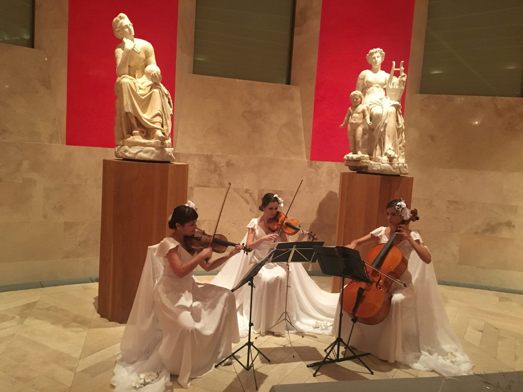 Dancem's string trio at the Prado Museum
