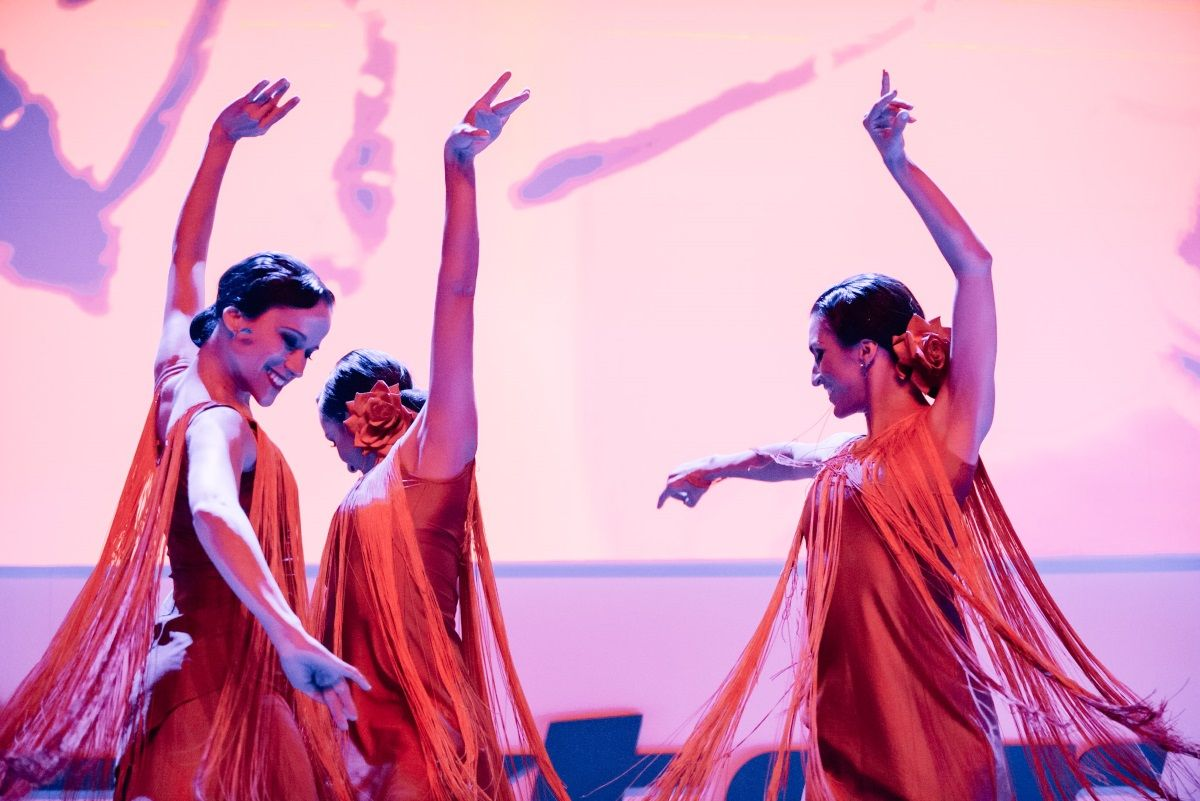 Flamenco de la mano de Dancem Espectáculos en el Palacio de Vistalegre para Baxter