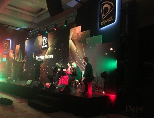 La empresa Etisalat vuelve a contar una vez más con Dancem Espectáculos en el Mobile World Congress