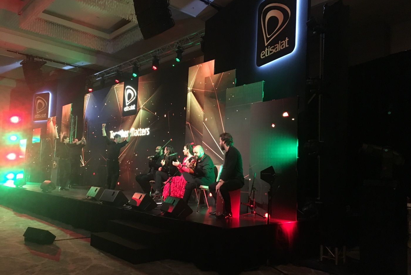 Dancem Espectáculos en el Mobile World Congress