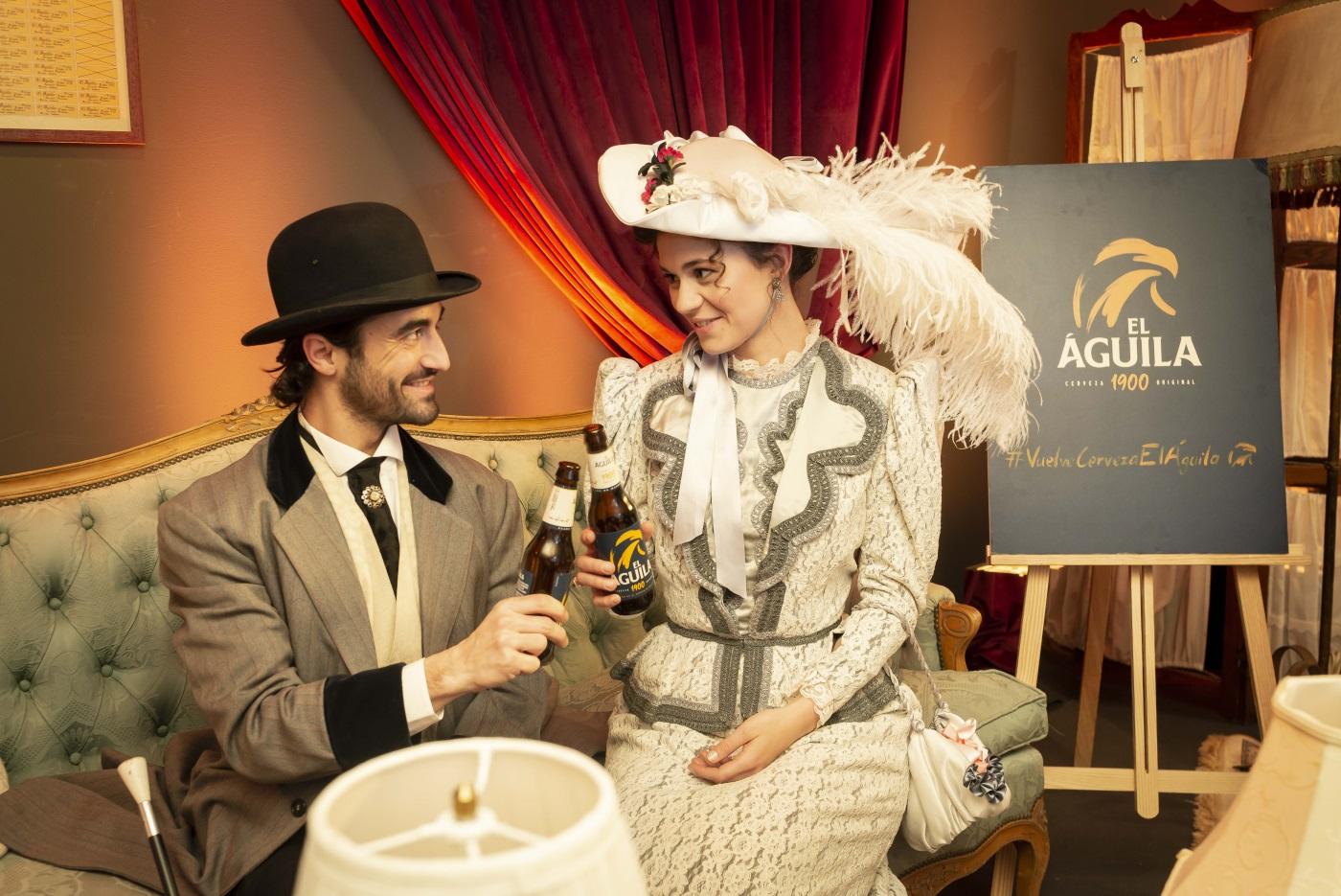 Dancem Espectáculos lanza la nueva cerveza Aguila 1900 de Heineken