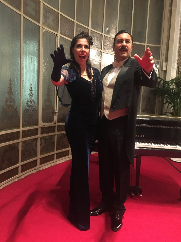 Dancem Espectáculos viaja con la empresa de aviación Canso al gran Casino de Madrid