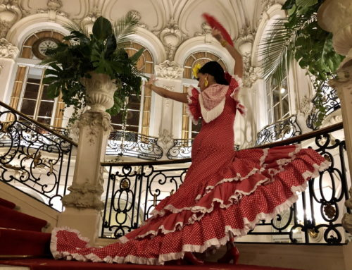 Dancem's souvenir dolls at the Casino de Madrid