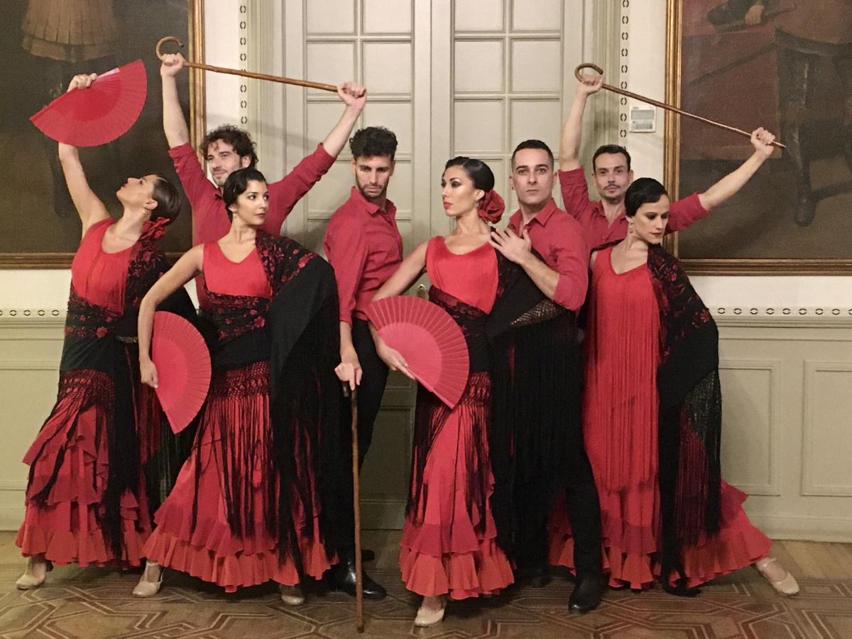 Danza española en el Castillo de Viñuelas