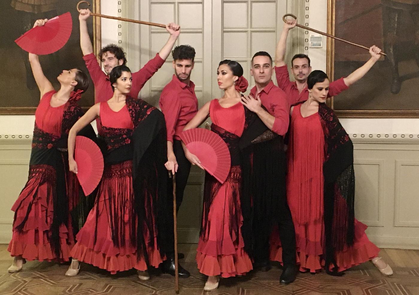 Danza española de la mano de Dancem en el Castillo de Viñuelas