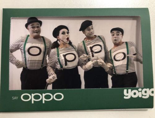 Yoigo's silent art (OPPO)