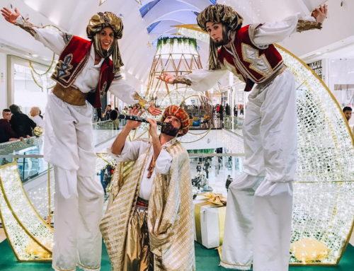 The Xanadu Shopping Center full of magic with Dancem Espectáculos