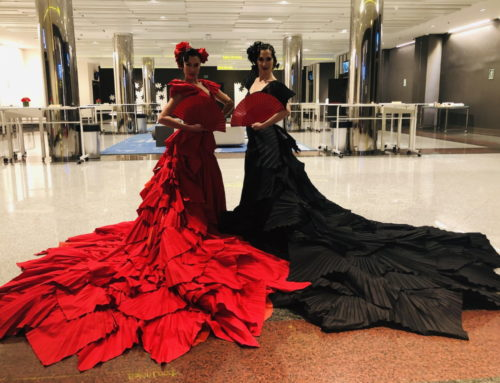 La Diva negra en el Hotel Marriott
