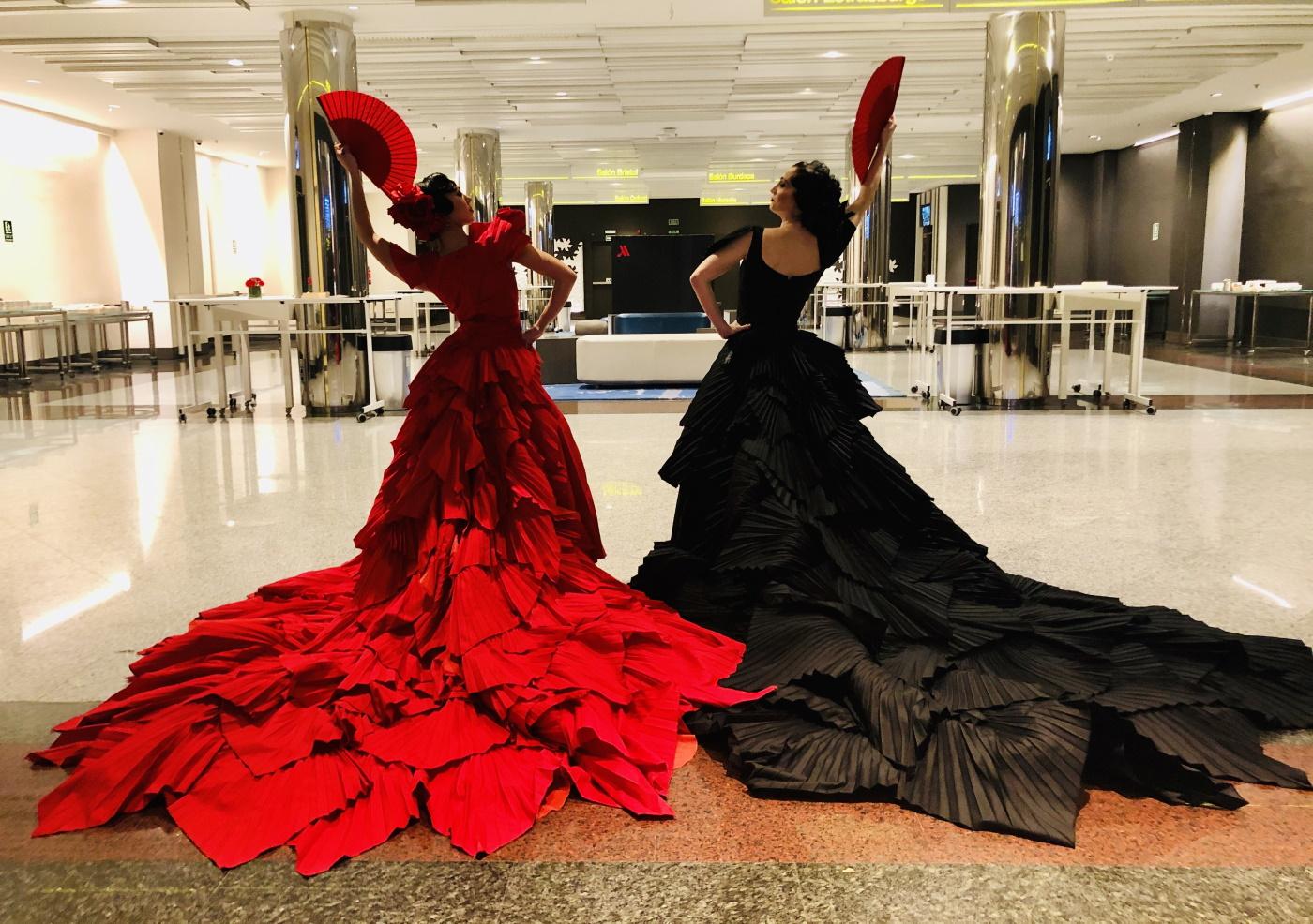 La Diva negra de Dancem Espectáculos en el Hotel Marriott