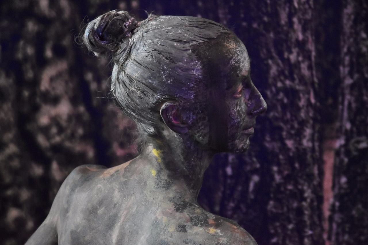Photocall viviente con danza contemporanea