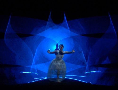 Laser dance: Impactdance